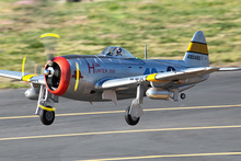 FMS 1700MM / 1.7M P47 P-47 Thunderbolt Silver PNP Version Durabale EPO Gaint Warbird Big Scale RC Model Plane Aircraft