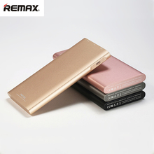 REMAX 10000mAh Power Bank High Capacity Dual USB External Battery Pack Emergency Mobile Phone Portable Charger for IOS Android(China)