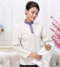 long sleeve cleaner uniforms chinese restaurant waiter uniform hotel staff uniform hotel waitress uniform