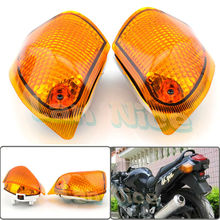 For KAWASAKI ZZR 400 600 ZX600E 1994-2004 Motorcycle Rear Turn signal Blinker Lens Amber