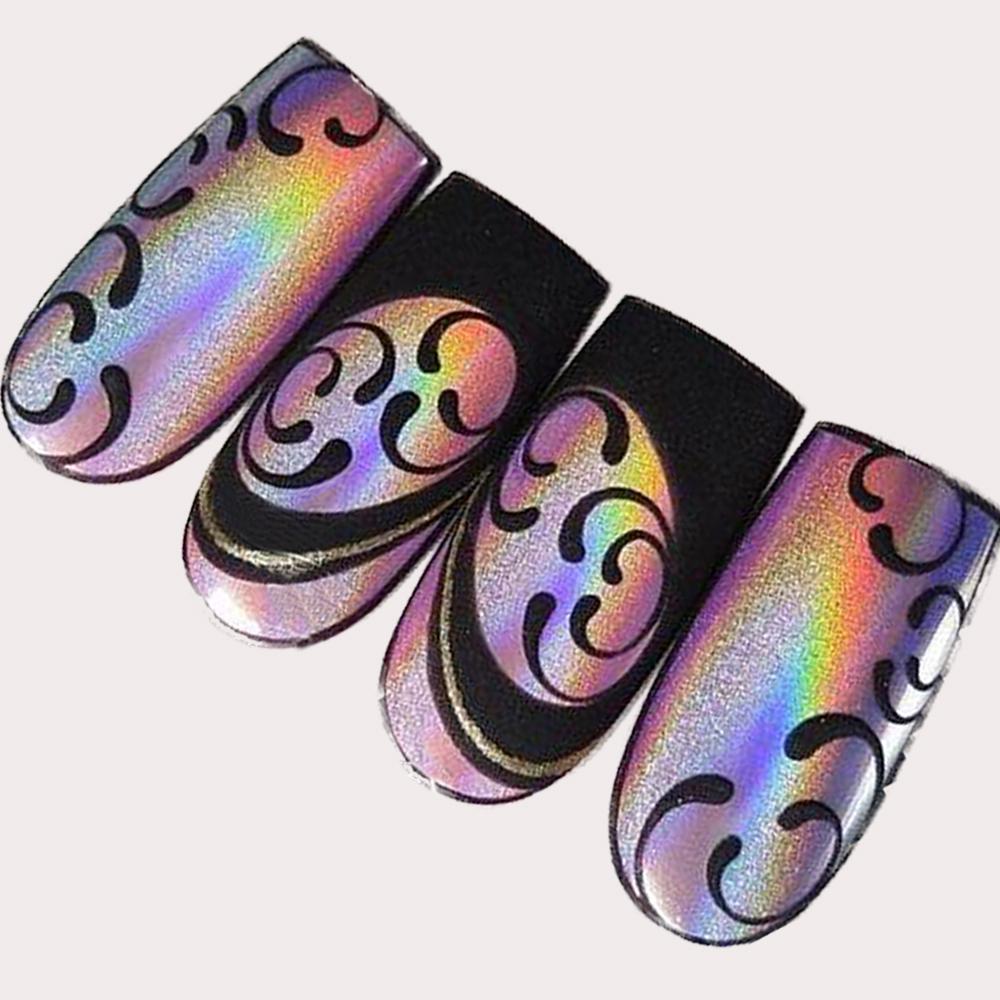 nail art glitter 3
