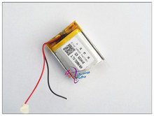 Manufacturers build various models of high-capacity lithium polymer batteries 503448 700mah