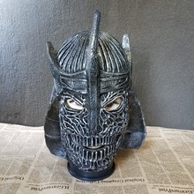 The samurai Mask Halloween Horror movie role mask Cosplay props live Party props party Ball Christmas