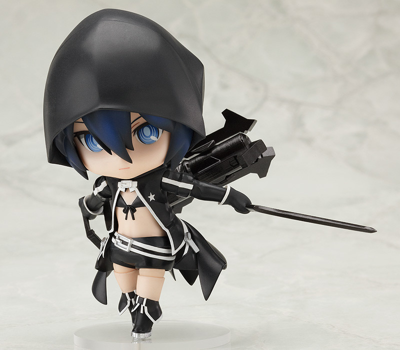 Anime Figure 10 CM Nendoroid Cute Q version BLACK ROCK SHOOTER Mato Kuroi movable PVC Action Figure Collectible Toy Model<br><br>Aliexpress