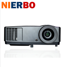 Shutter 3D DLP Projector 7000 Lumens High Brightness Top Quality for Business Education Portable Projector for daylight use HDMI