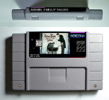 Addams Family Values - Action Game Cartridge 16 bit 46 pin USA Version