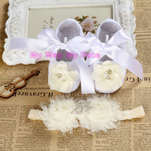 Baby Girl satin lace toddler shoe Christening shoes for baby girl,soft sole baby slippers,baby ballerina
