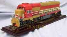 1/48 Scale Copper Chinese Dongfeng 7 g diesel locomotive Train Model 7G orbital dynamic Train Model(China)
