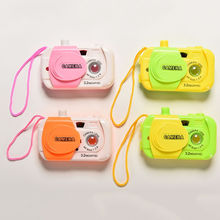 1pcs Random Color Baby Kids Plastic Toy Camera Intelligent Simulation Digital Camera Childrens Study Educational Toys Gifts(China)