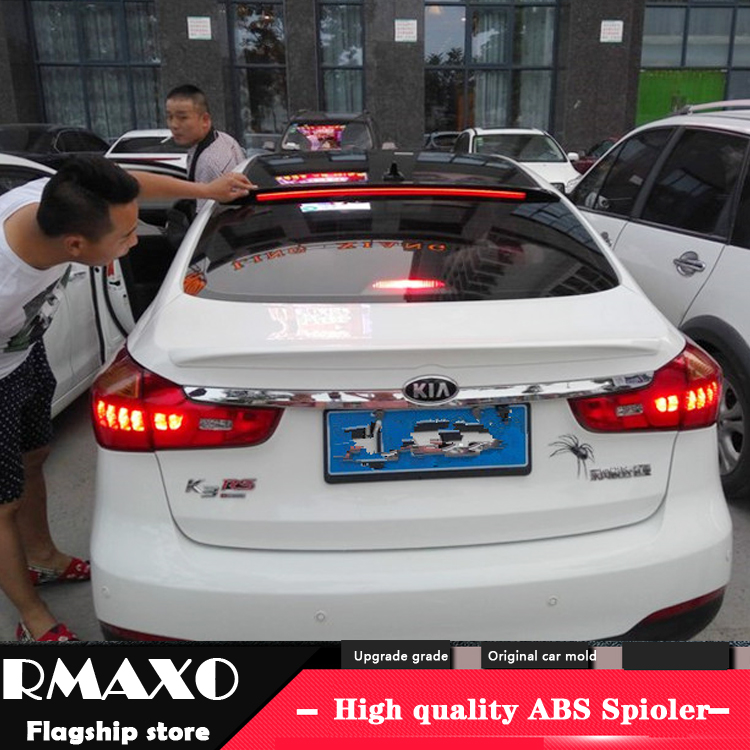 ABS Plastic Rear Trunk Boot Lip Wing Spoiler for 2011-2015 Kia Sportage
