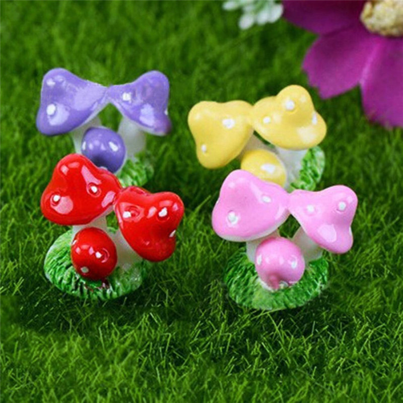 Garden Miniatures Crafts Landscape-Decorations Small Artificial-Resin Micro DIY Hot-Sale title=