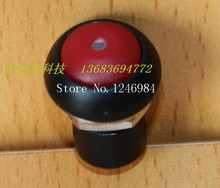 [SA]12MM round red illuminated push button switch with lock waterproof Dailywell Taiwan Deli Wei button switch--20pcs/lot