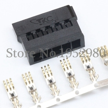 30 Set Sata ATX 4.2mm Computer Hard Disk Power Connector Plug Short Style Black Plastic Housing + Golden Terminals(China)
