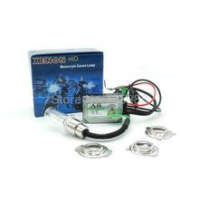 Big discount !Motorcycle super thin  H6-3 35w Hid Conversion Kit Motorcycle hid kit lights H6M