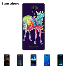 For BQ Aquaris U lite 2016  5.0 inch Soft TPU Silicone Cellphone Case Color Paint Protective DIY Cover Skin Bag Free Shipping