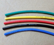 14AWG soft high temperature silicone wire 0.08mmx400 core wire Model aircraft power cable(China)
