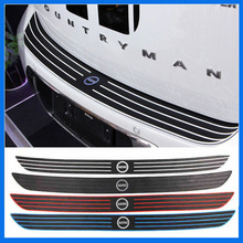 Rubber car bumper protection sticker For BMW MINI countryman R60(China)