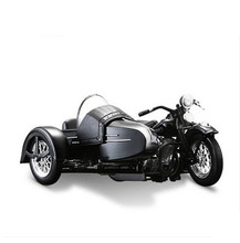 Classic Alloy diecast 1/18 Motorcycle Model for Harley-Davidson three-wheeled Sidecar by Collection/Toy/Gift