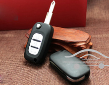 3 Buttons Remote Flip folding Car Key Shell for Renault Key Blank Fob