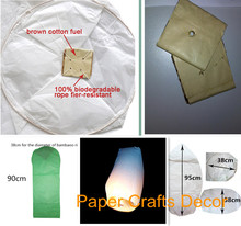 10pcs/lot Cylinder Shape Fire Resistant Biodegradable Paper Flying Sky Lanterns Decoration For Wedding Party Events