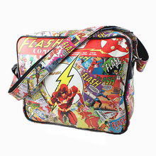 DC Comics flash Handbags Captain America Spider Man/Iron Man/ Thor/Star Wars/Superman/Deadpool PU Leather Shoulder Bags