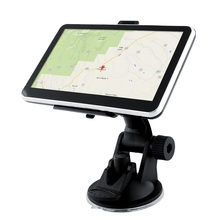 Dual Core 5 inch Car GPS Navigation FM transmitter 4GB Bundle Home Charger latest maps