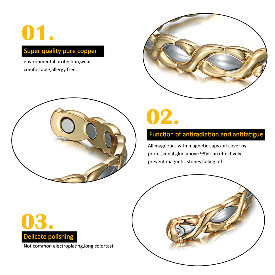 copper bangle for women  (1)