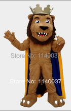 the king of lion mascot costume custom fancy costume anime cosplay kits mascotte theme fancy dress carnival costume