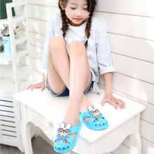 Hot Sale Fashion girls boys cartoon sandals cool summer kids homewear sandals baby animation slippers shoes flip flop HH110008