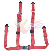 Xpower - Universal 4PT 4 Point Racing Seat Belt Safety Harness1.85inch(China)