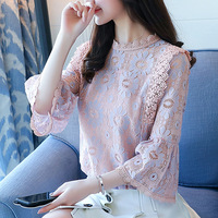 fashion-women-Floral-Lace-dress-shirt-2018-new-spring-summer-long-sleeve-all-match-Three-Quarter.jpg_200x200