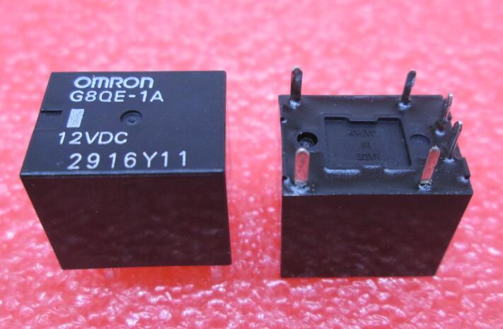 HOT NEW relay G8QE-1A 12VDC G8QE-1A-12VDC G8QE1A 12VDC DC12V 12V DIP6 5pcs/lot<br>