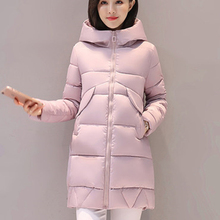 Snow Wear Women Parkas Winter Jacket Women Outerwear Female 2017 Plus Size 3XL Women Coat Long Thick Parka Cotton Jackets ZY3788(China)