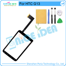 For HTC Wildfire S G13 Glass Lens TouchScreen Digitizer +Track Number+Free Tools(China)