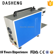 discount price 10W/20W/30W metal engraving optical fiber laser marking machines epoxy resin electronics jewelry marking