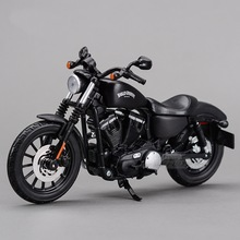 Freeshipping Maisto 2014 Sportster Iron 883 1:12 Motorcycles Diecast Metal Sport Bike Model Toy New in Box For Collect