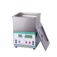 2L Ultrasonic Cleaner 60W DK-120HTD Stainless Steel Washing Bath Digital Control 100W Heating Power Ultrasonic Washing Machine(China)
