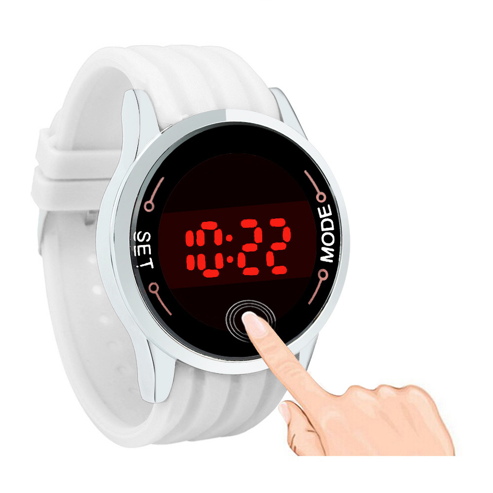 2016 Fashion Sale Women and Mens Military Sports Watch Unisex Silicone LED Touch Screen Day Date Wristwatches Relogio Masculino<br><br>Aliexpress