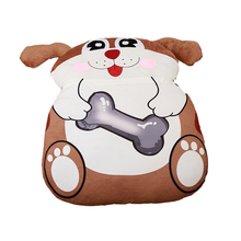 Fancytrader Giant Stuffed Animal Double Bed Soft Plush Beanbag Mattress Sofa Mat Dog Monkey Chicken Tiger Dragon Cow  12 models