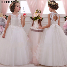 Buy Baby Girl Clothes Big Girls Dresses Wedding Teenager Party Princess Costume Kids Sleeveless Chiffon Gown Children Robe Fille for $18.98 in AliExpress store