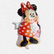 5pc helium birthday balloons 46*63cm mylar cartoon minnie mickey balloon dancing style printer balloons for modeling