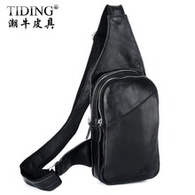 HOT SALE! 2013 Cattle man bag fashion cross-body bag Waist pack single shoulder bag 3048(China)