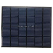 New 3.5W 6V Min Solar Cell Solar Panel  Solar Module Diy Solar Charger System 165*135*3MM Wholesale 100pcs/lot  High Quality