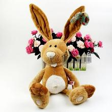 1pcs 35cm Birthday gift NICI Counters Genuine Easter Bunny Big Long Ears Rabbit Children Favorite Plush toy
