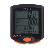 BOGEER YT-813 Bike Speed Meter Digital Bike Computer Multifunction Waterproof Sports Sensors Bicycle Computer Speedometer(China)