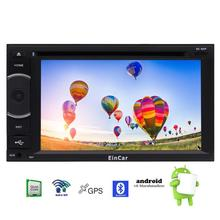Android 6.0 Car DVD CD Player in Dash Autoradio Bluetooth FM/AM Radio Receiver 1080P Video Screen Mirroring Wifi/3G/4G Internet
