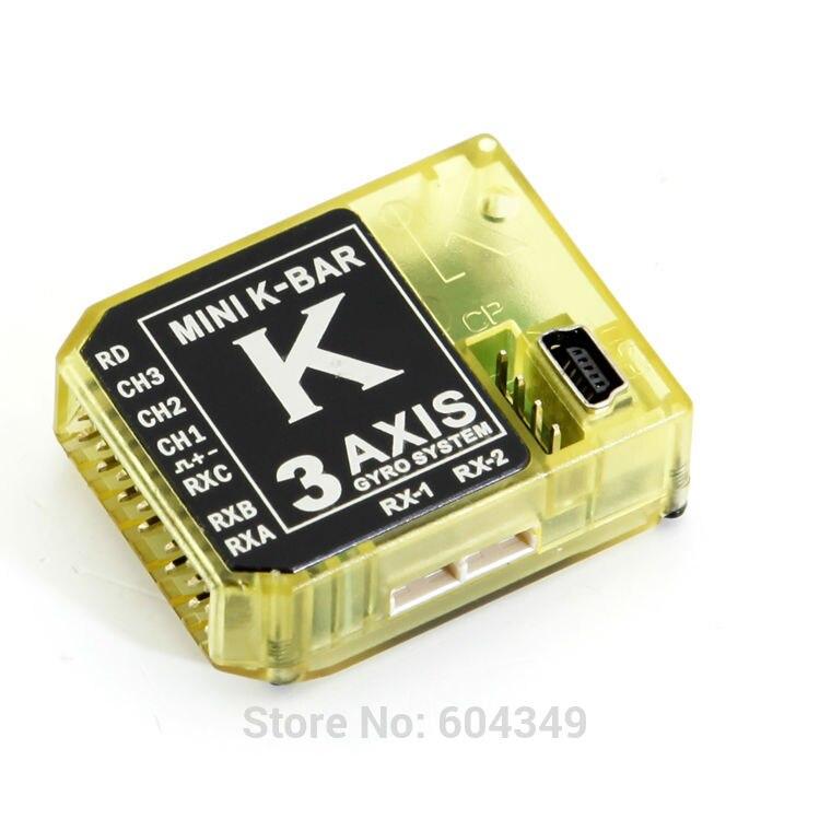 3 Axis Gyro KBAR 5.3.4PRO K8 Flybarless Stabilization System<br><br>Aliexpress