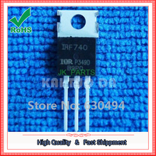 Free Shipping 5pcs NEW IRF740 IRF 740 Power MOSFET 10A 400V TO-220