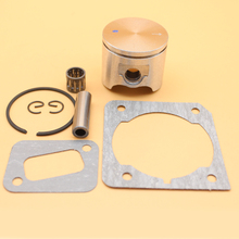 42mm Piston Needle Bearing Cylinder Muffler Gasket For HUSQVARNA 340 345 E 346 XP EPA Chainsaw Engine Motor Parts