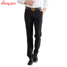 Buy Men Suit Pants Plus Size Formal Business Slim Fit Blazer Trousers Brand Bridegroom Wedding Party Pants Costume Homme for $19.55 in AliExpress store